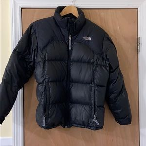 The North Face down puffer jacket girls XL